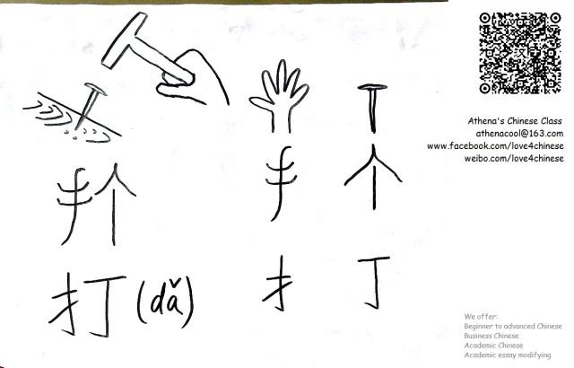 [character] 打 (1)